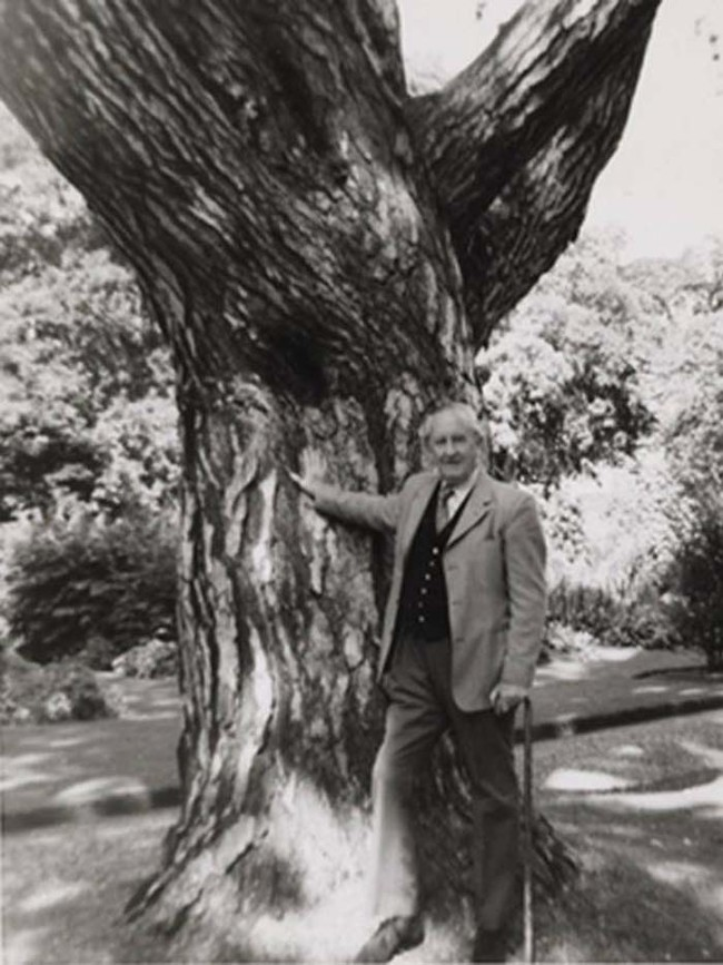 Final image of author J.R.R. Tolkien