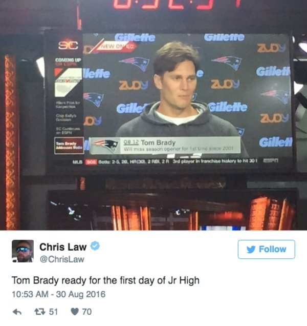 Tom Brady S New Haircut Has The Public Cackling On Twitter Gallery