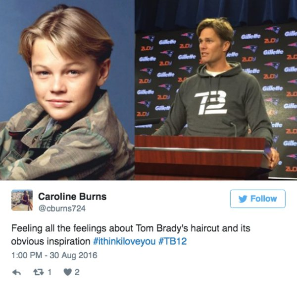 Tom Brady's new haircut has the public cackling on Twitter - Gallery
