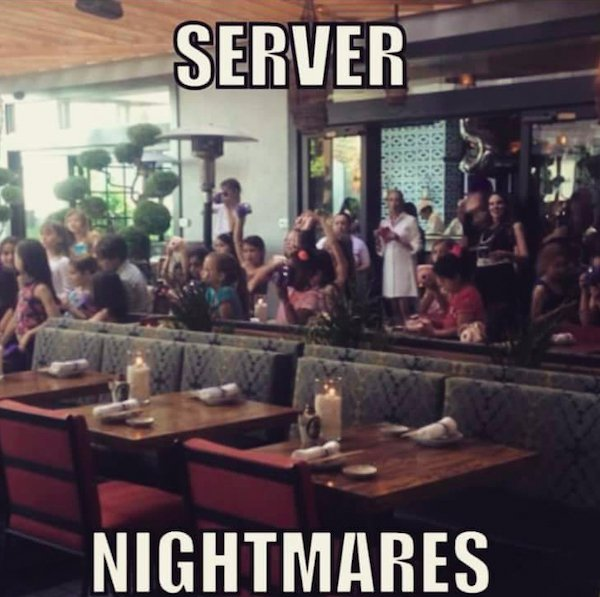 Cafe 36 Kitchen Nightmares: One Order Of Server's Life Memes On The Fly