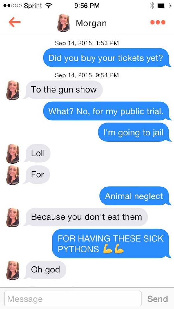23 Times Tinder Was As Beautiful As It Was Perverted - Funny