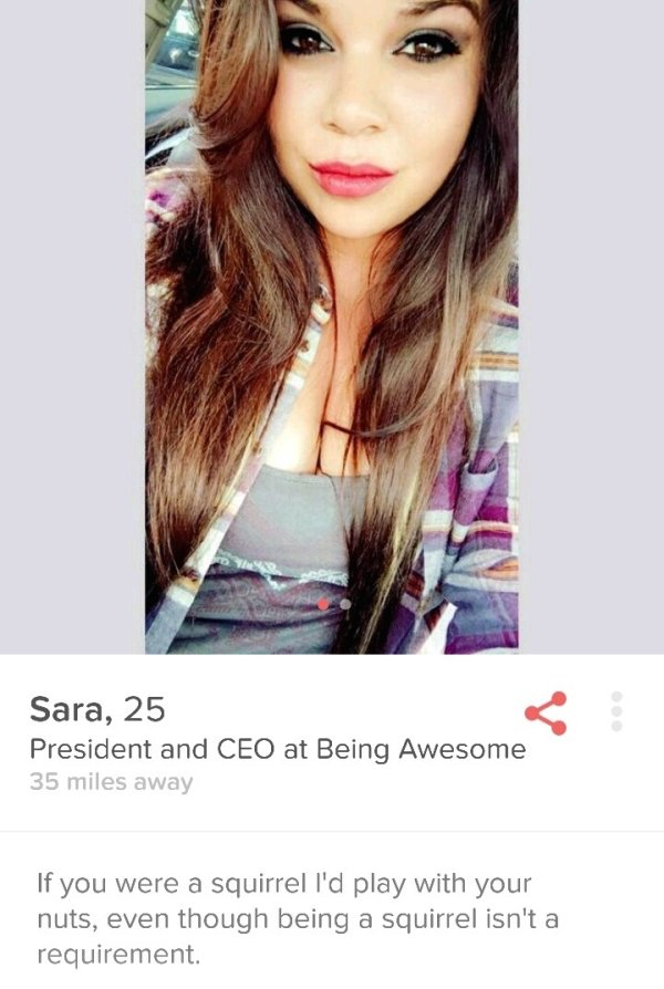 30 Funny Tinder Profiles That Are Straight To The Point - Ftw