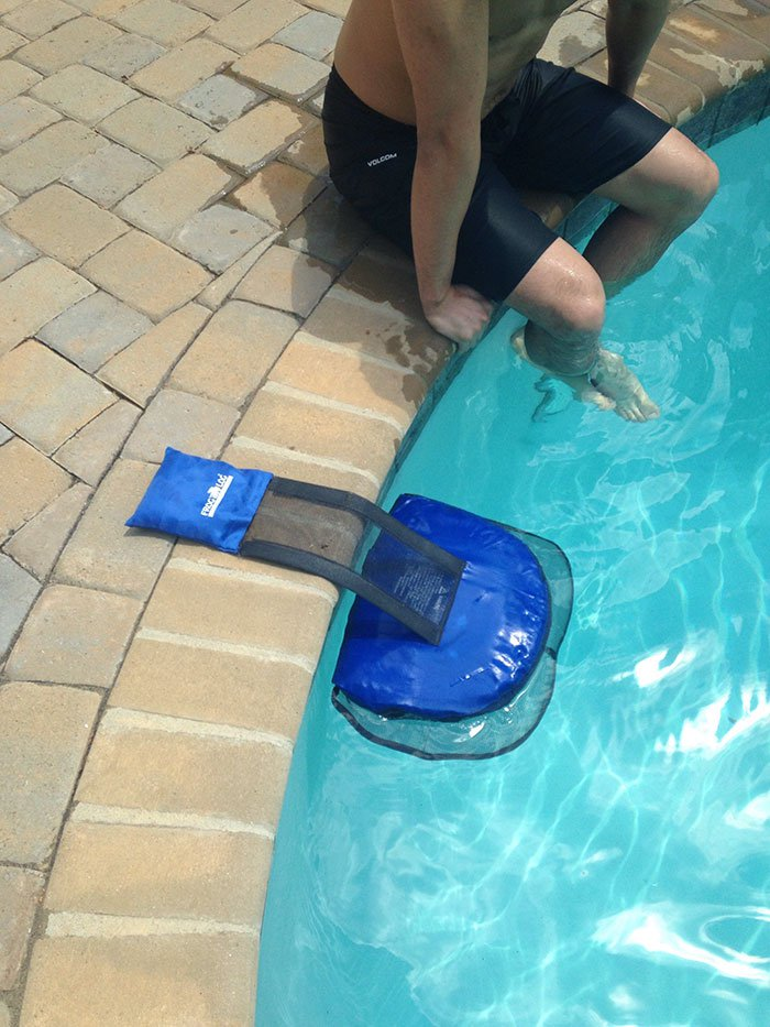 An exit ramp for critters that get stuck in your pool.