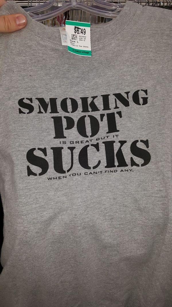 Weird Thrift Store Shirts 4