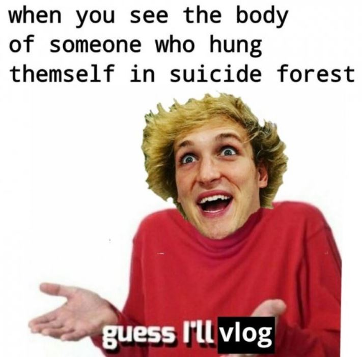12 Memes Roasting Logan Paul For Being The Asshole That He Is Ftw