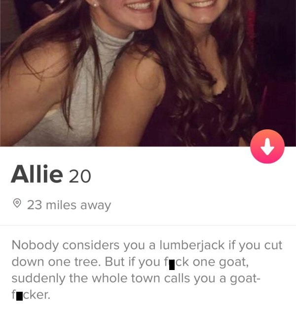 Tinder profiles 45 dirty My Adventures
