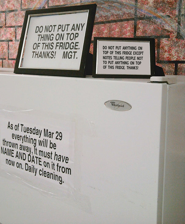 41 funny notes left on notices - Gallery | eBaum's World