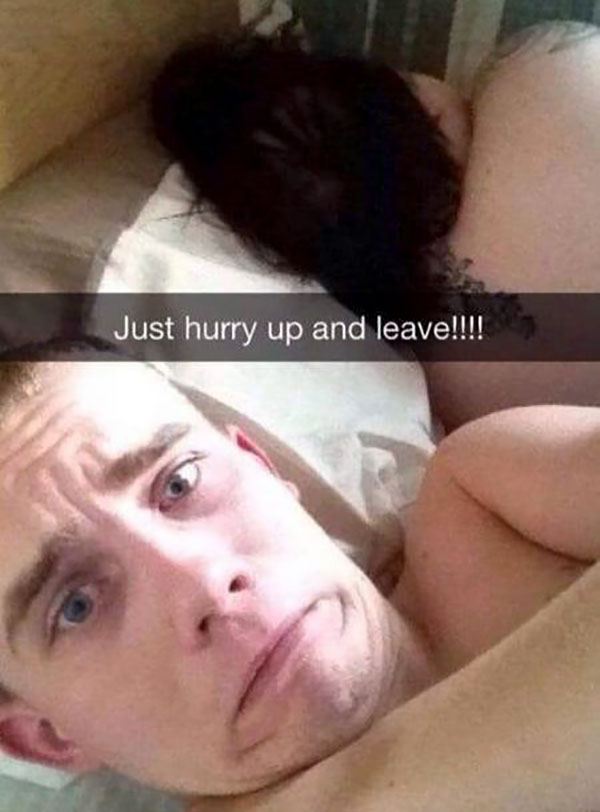miley cyrus sex snapchat - Just hurry up and leave!!!!