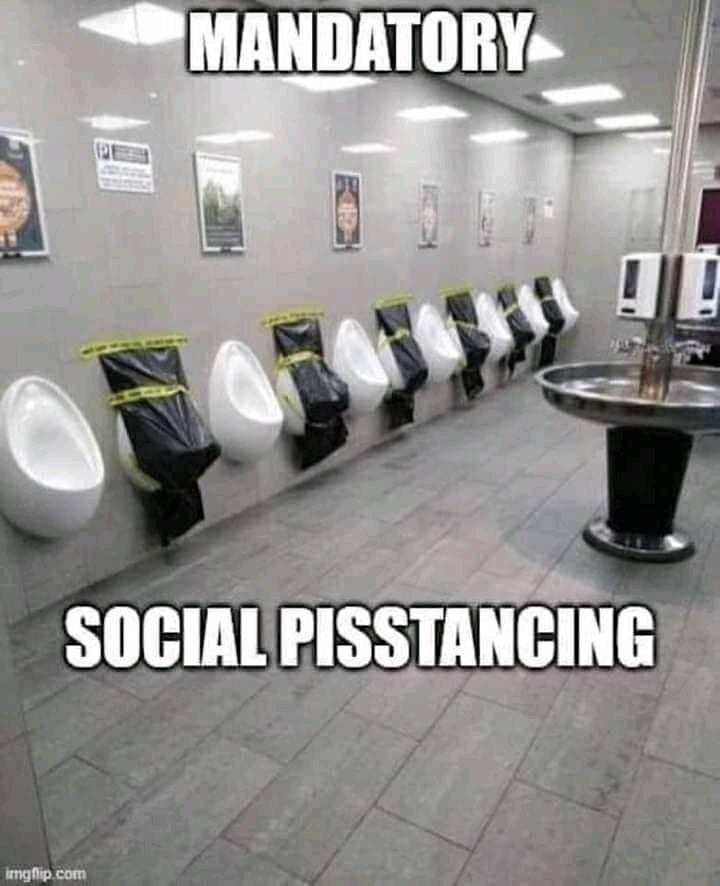 floor - Mandatory Social Pisstancing imgflip.com