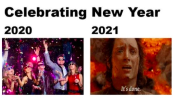 29 NYE Memes to Beat the Suck of 2020 - Funny Gallery