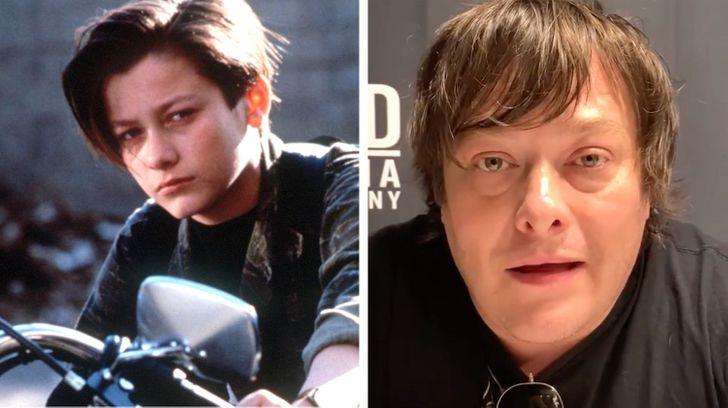 child celebrities then vs now -- Edward Furlong