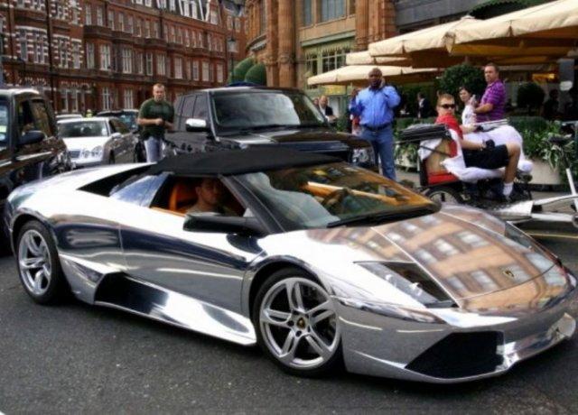Neat Chromed Cars Gallery