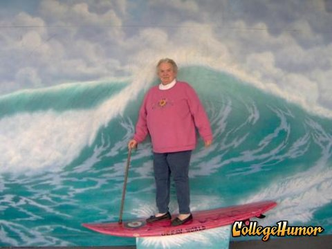 I want to surf when I am 80.