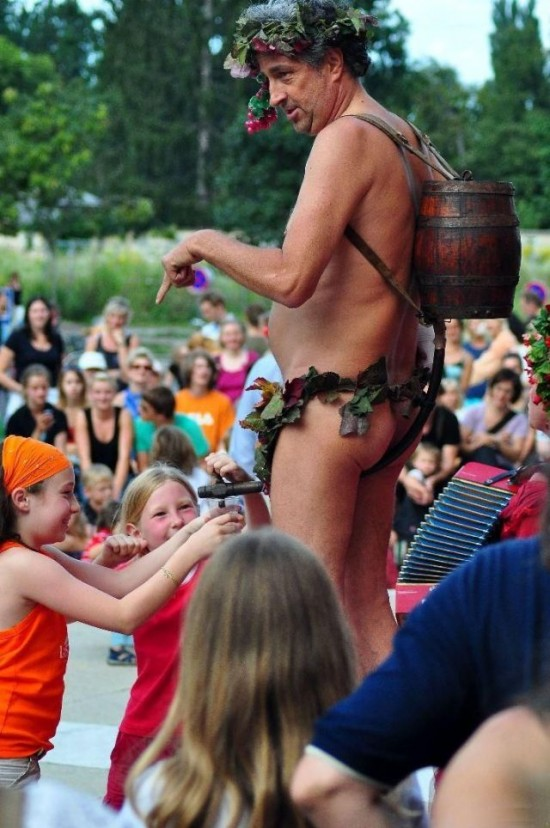 Just part of the magnificient  entertainment and amusement at our towns Annual Summerfest!