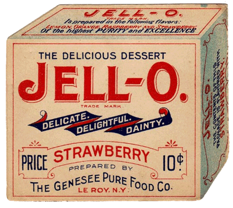of this guy, who was caught, throwing JELLO at his wife. He was later arrested for carrying a CONGEALED weapon. (Ha, ha, got ya', R2)