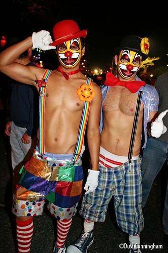 Schwule Midget-Clown-Pornos