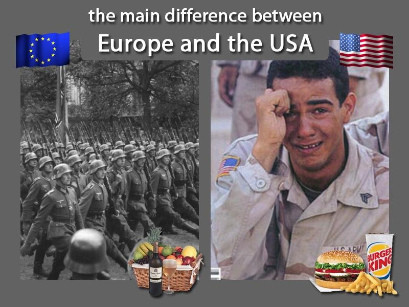 b741f3db507 The Main Differences Between Europe And Usa - Gallery