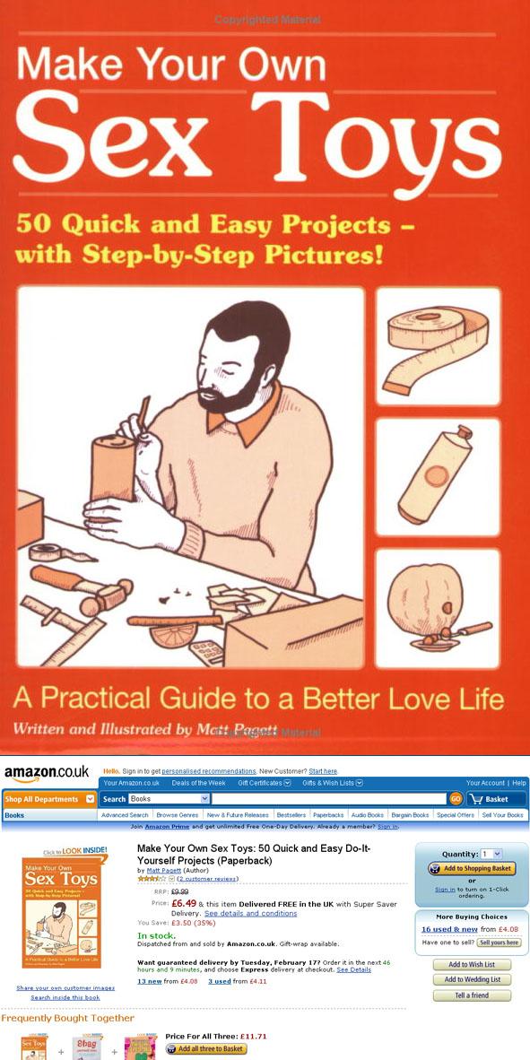 Make homemade sex toy