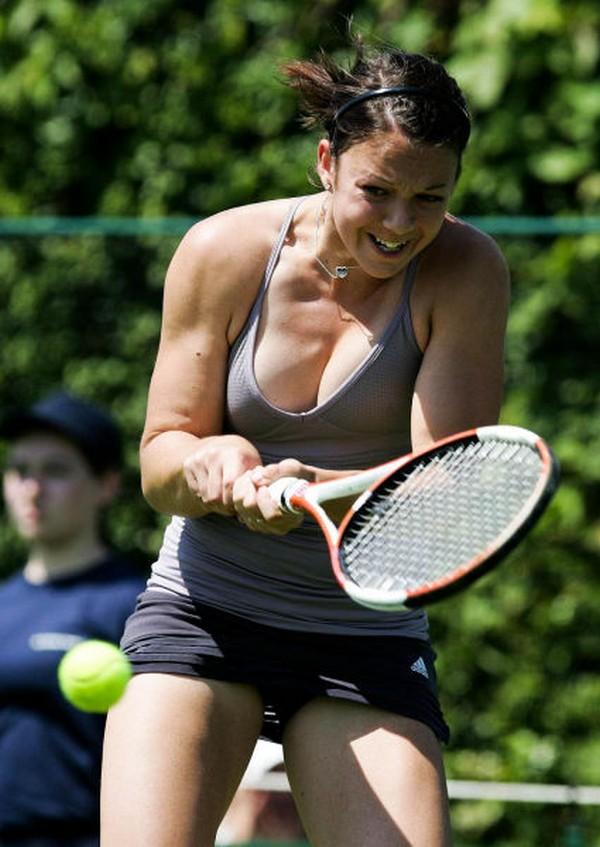 Zakaj moški radi ženske tenis - Galerija Ebaums World-8025