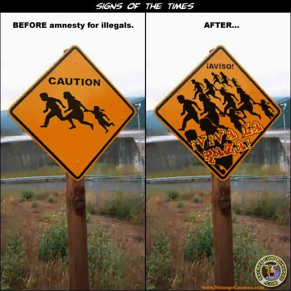 funny captions of illegal immigrants