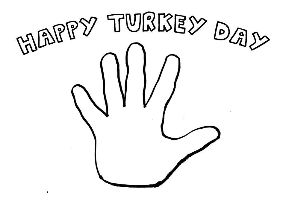 Create your best Hand Turkey using this image. Entries can be done by hand or Photoshopped.