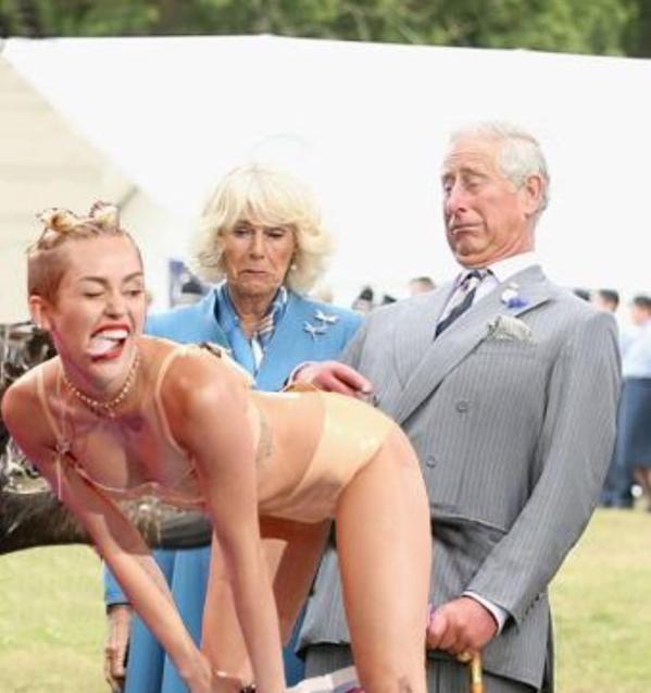 Prince Charles Nude