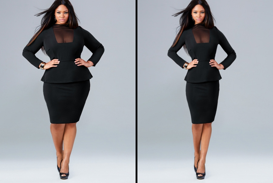 photoshop fat to skinny timelapse - YouTube