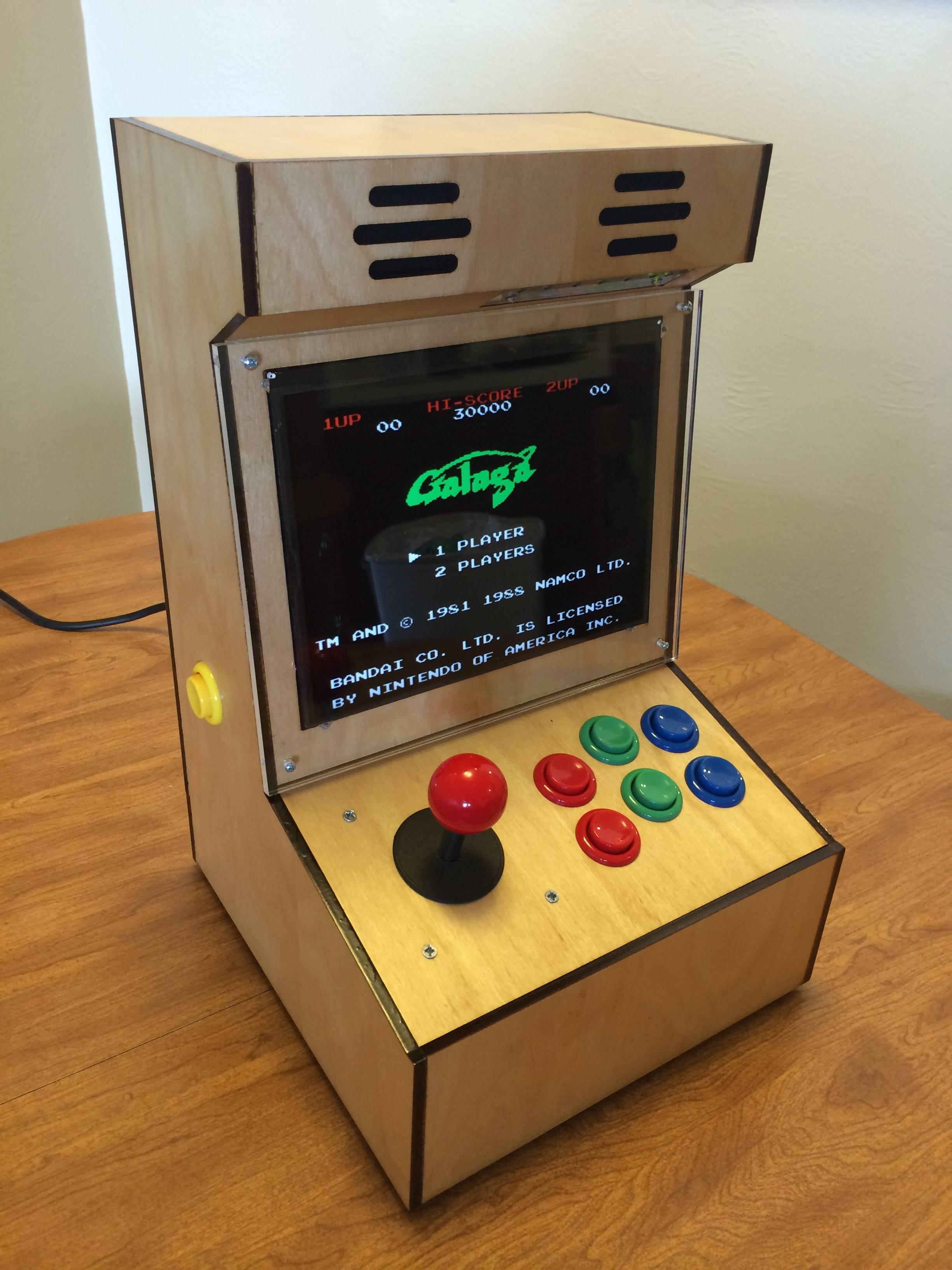 Guy Makes A Proper 4:3 Bartop Arcade Cabinet - Gallery