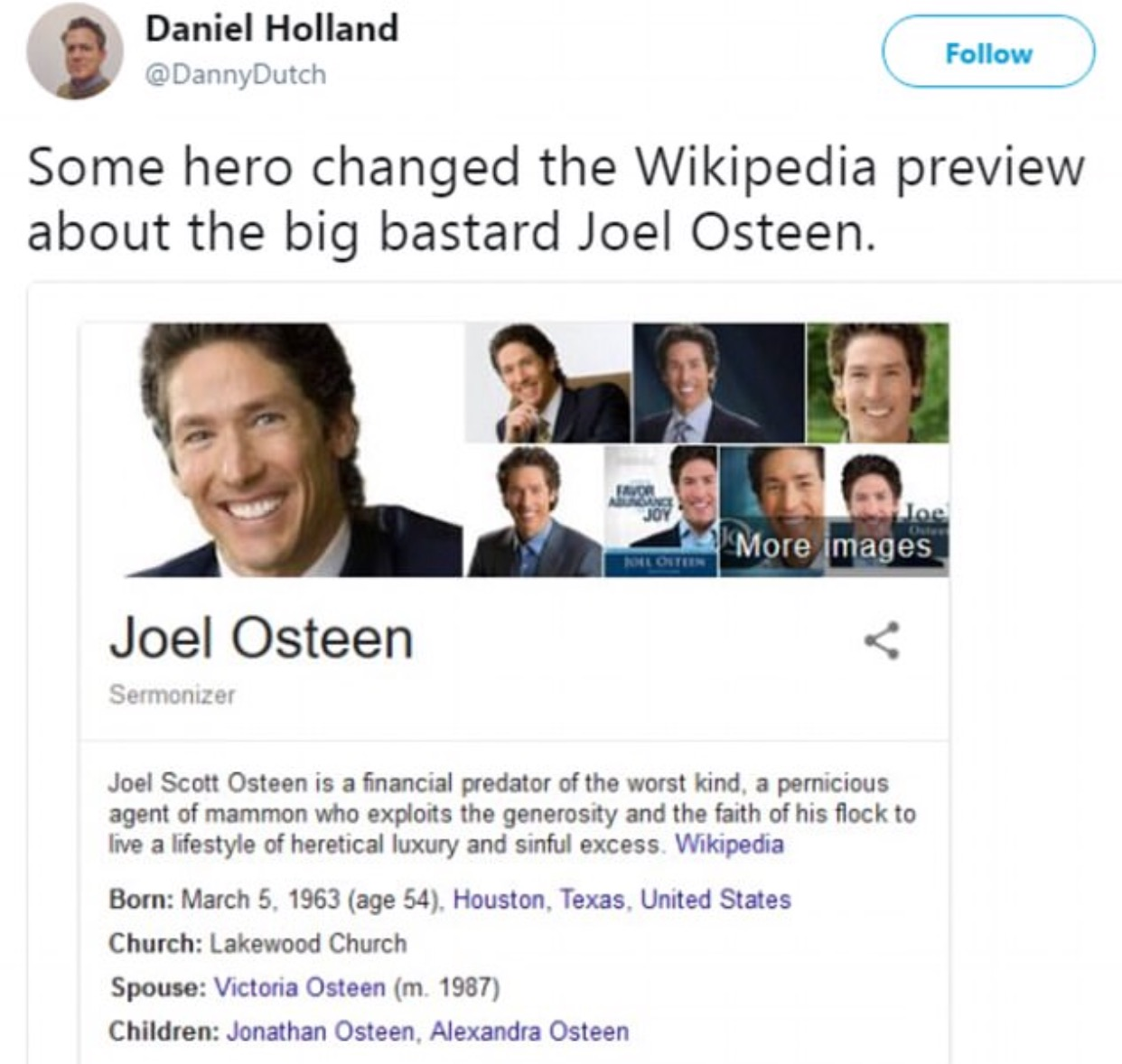 15 Joel Osteen Memes That Might Outrage You Gallery Ebaums World
