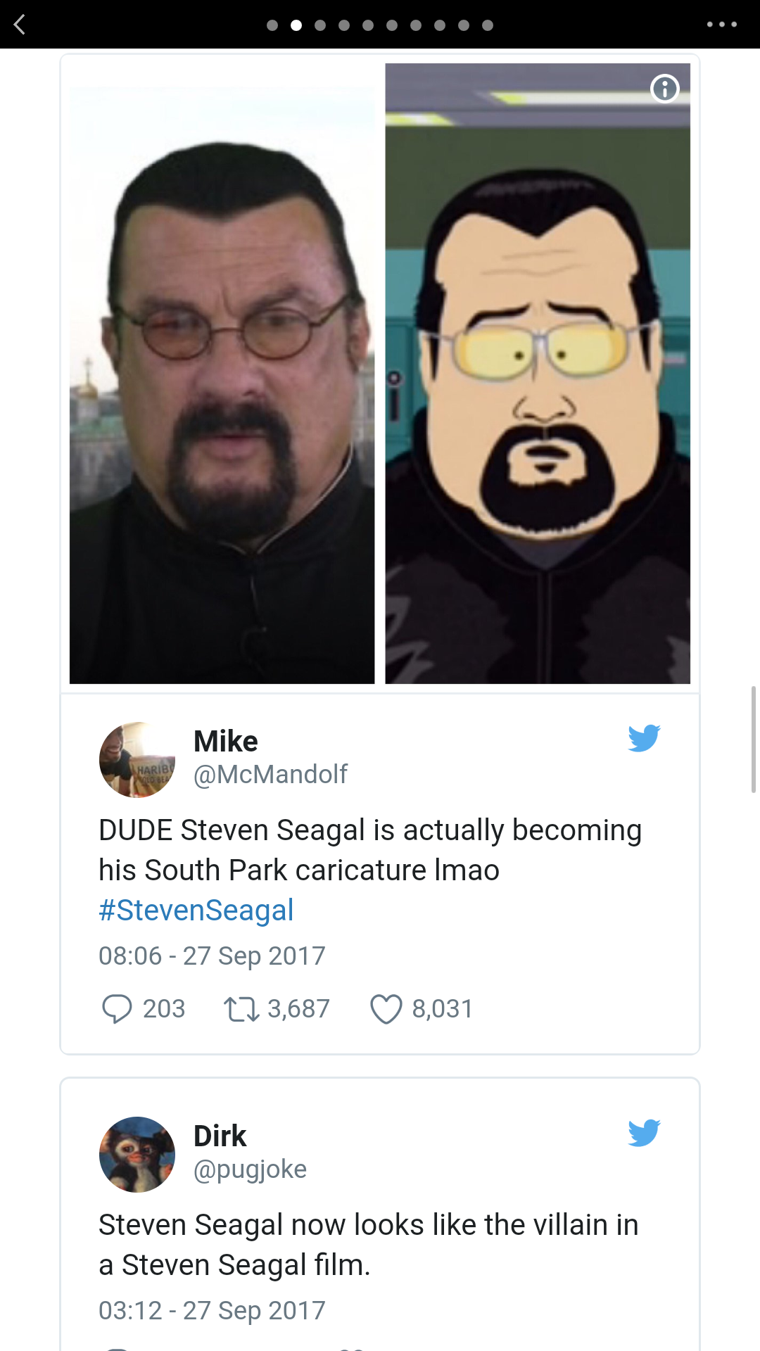Steven Seagal's New Look Gets Mercilessly Roasted By The ...