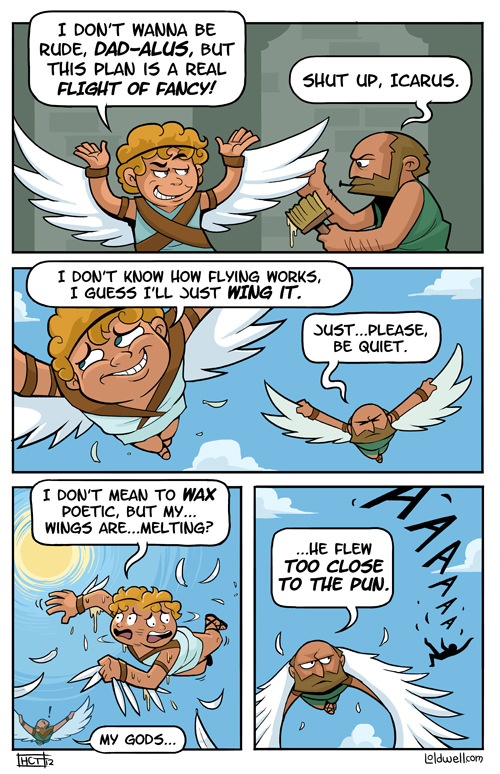 Apologise, mythology comic strip that would