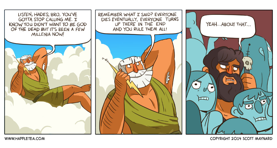 40 Mythological Comic Strips For A Chill Friday