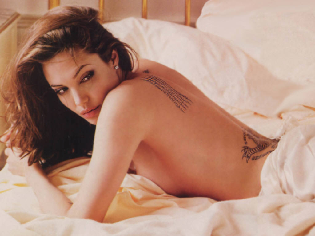 Angelina Jolie Topless Pics angelina jolie topless - picture