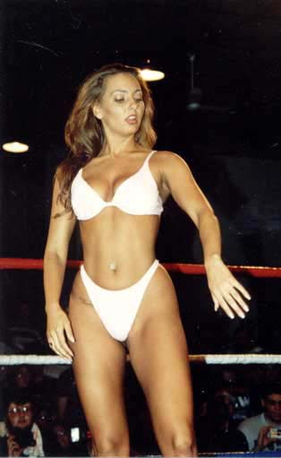 Cheaply got, gorgeous female wrestlers naked
