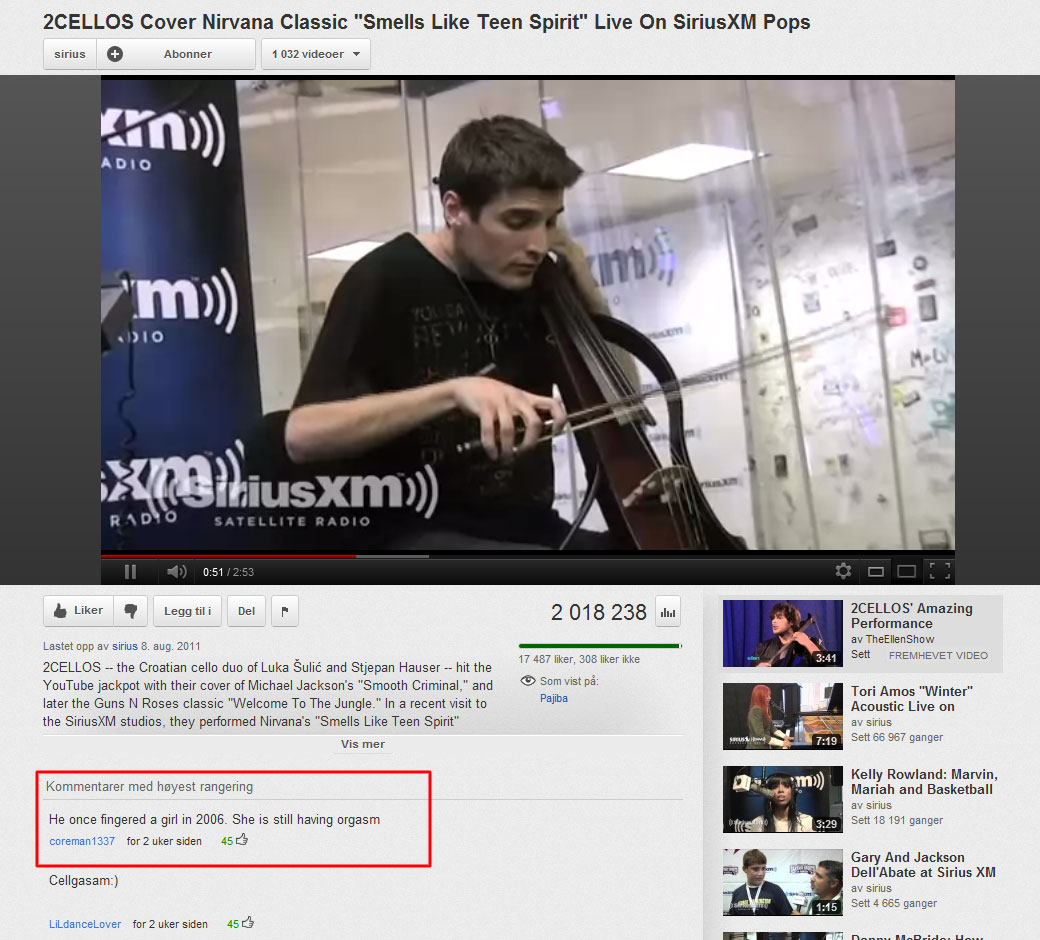 Image of: Smosh 21 46 Of The Most Hilarious Youtube Comments Ebaums World 46 Of The Most Hilarious Youtube Comments Funny Gallery Ebaums