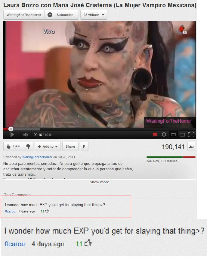 Image of: His Eyebrows 35 46 Of The Most Hilarious Youtube Comments Ebaums World 46 Of The Most Hilarious Youtube Comments Funny Gallery Ebaums