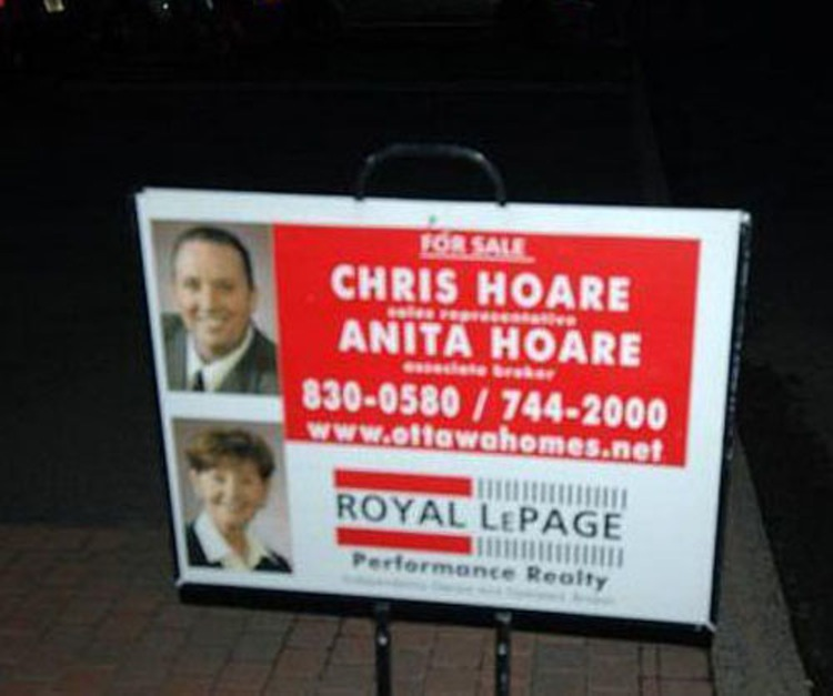 21 Real Estate Agents With Very Unfortunate Names - Gallery