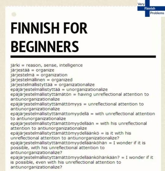 Finnish Problems