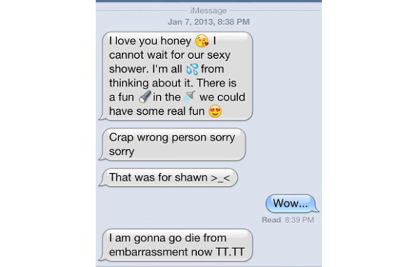 9 Sexts Sent To the Wrong Number - Pop Culture Gallery | eBaum's World