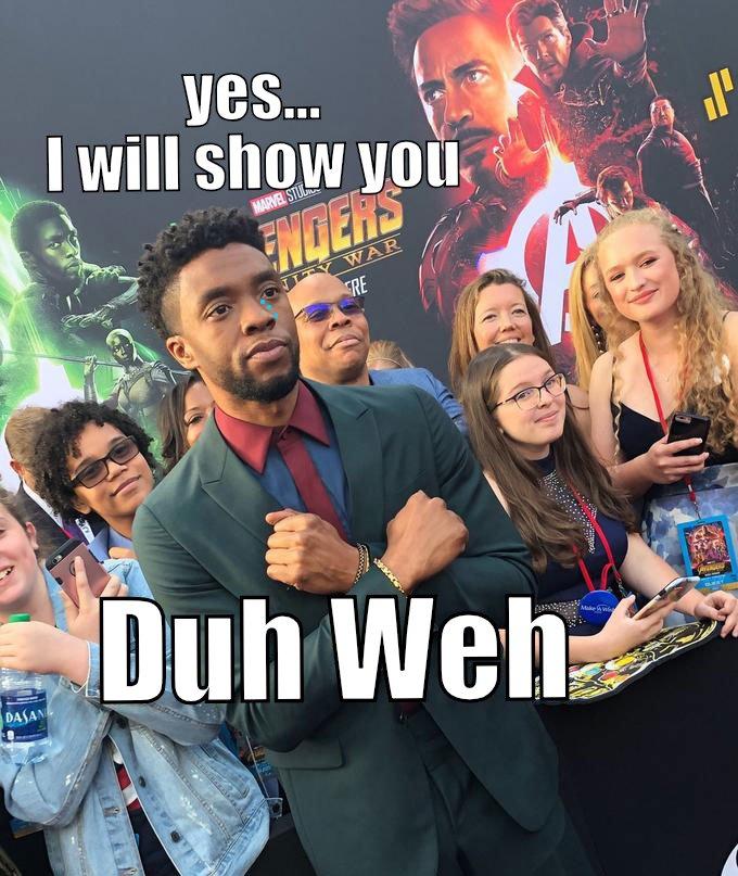 Guess he should of kept Wakanda a secret...