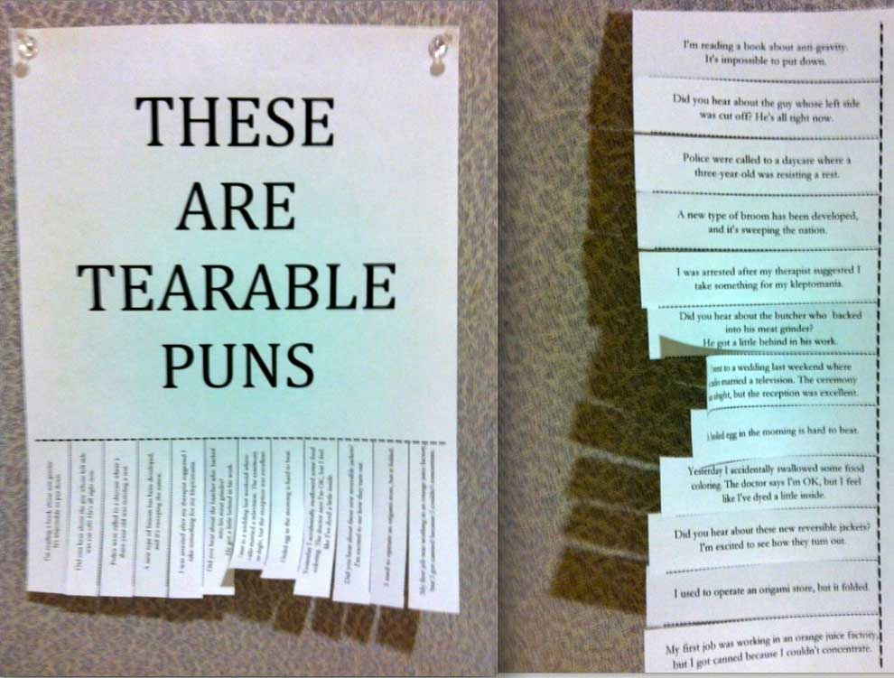 38 Best Puns In Web History - Funny Gallery | eBaum's World