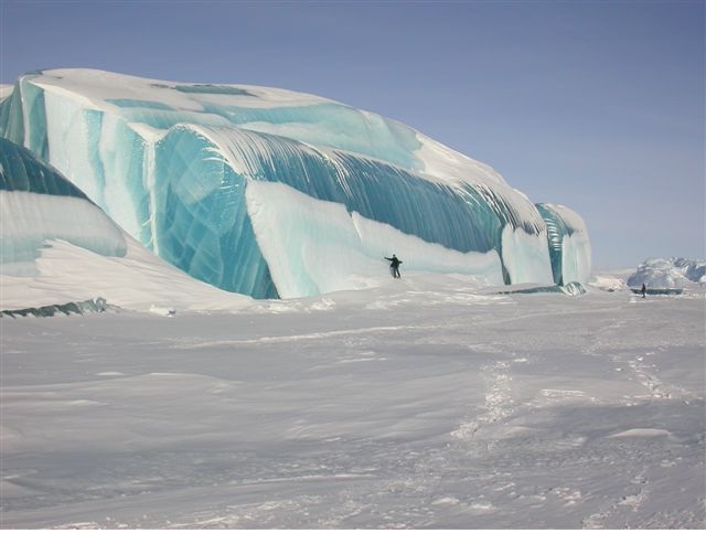 6 - Striped Icebergs