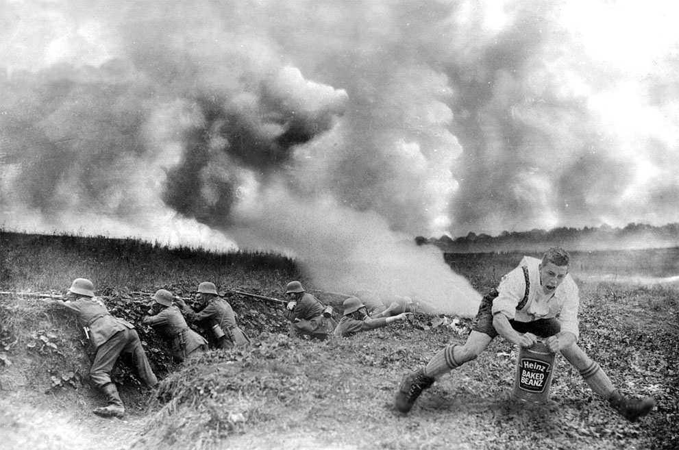 WW1 German Gas Attack 1916