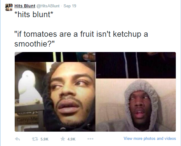 12 Hilarious Stoner Thoughts As Tweets Funny Gallery Ebaums World