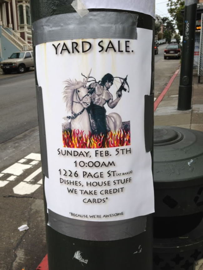 27 garage sale signs that nailed it
