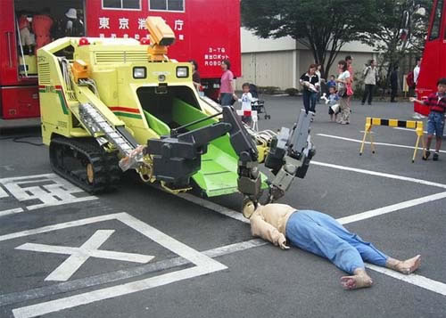 Dead body removing robot  - Picture | eBaum's World