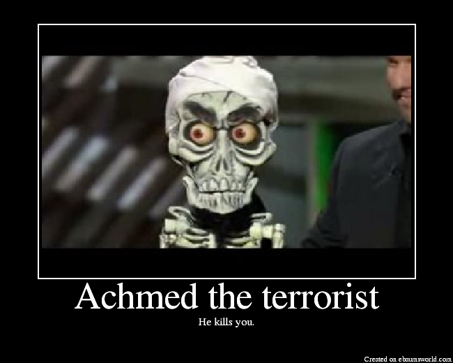 He kills you.