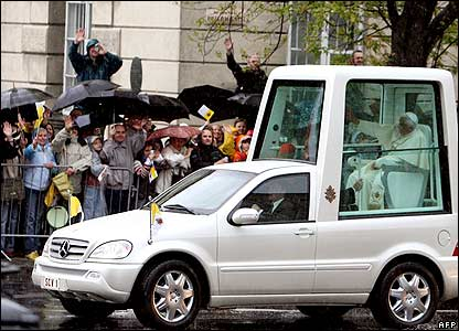 The pope's mobile