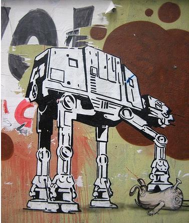 Star Wars Street Graffiti Gallery