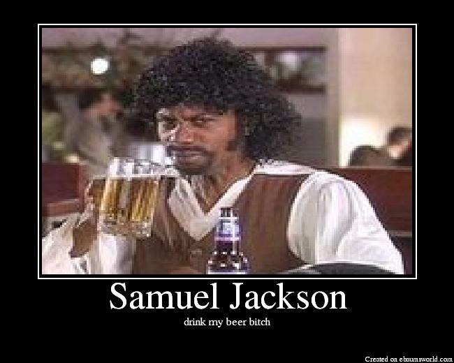 drink my beer bitch